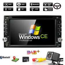Car Stereo GPS SAT Navi Bluetooth Radio Double 2 Din 6.2