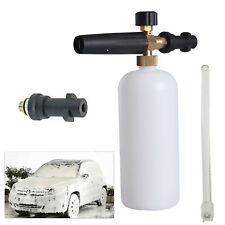 "1L 1/4"" Soap Car Foam Lance Cannon Washer Gun Pressure Foamer Wash Jet Bottle"