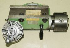 Teilkopf Teilapparat - FNCb - Dreibackenfutter 125 mm - drehbar & schwenkbar (A)