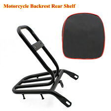 Universal Motorcycle Electric Bike Refitted Backrest Rear Shelf Luggage Rack Pad
