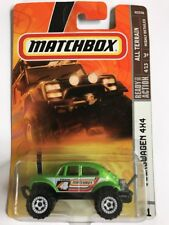 Matchbox Volkswagen 4X4 All Terrain ATV Green Scale 1:64 New