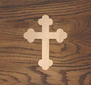 Cross Laser Cut Wood, Sizes up to 5 feet, Multiple Thickness, Crafting A433