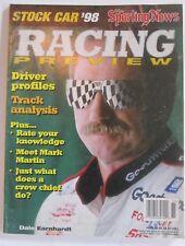 New listing DALE EARNHARDT SR magazine 1998  SPORTING NEWS