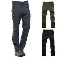 Men's Athletic Hiking Pants Waterproof Quick Dry Camping Trekking Trouser