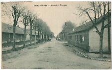 CPA 18 - CAMP D'AVOR (Cher) - Avenue de Bourges (Avord) - Ed. L. Doré