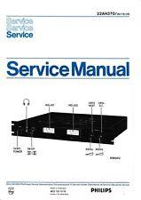 Service Manual-Anleitung für Philips 22 AH 370