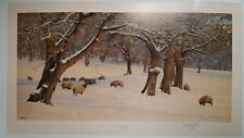 winters glow by anthony gibbs limited edition