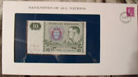 Banknotes of All Nations Sweden 10 Kronor 1979 serie X P-52d UNC BIRTHDAY 1986