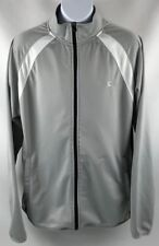Starter Men's Track Jacket Size S Small Gray Polyester Zip Up Pre-owned A1501