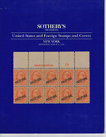 Sotheby's - United States and Foreign Stamps and Covers - March 23 1994