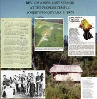 Jim Jones Last Sermon at People's Temple NEW Ltd Vinyl LP Jonestown Suicide Tape