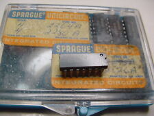 Sprague Uln2280A Audio Power Output Amplifier 34db Fixed Gain Protected Ic 14pin