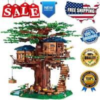 Ideas 21318 Building Blocks Sets Large Tree House Bricks Model DIY Toys for Kids