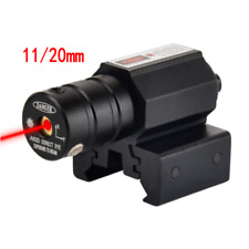 New listing Red Laser Beam Dot Sight Scope Tactical For Gun Pistol Picatinny Mount New