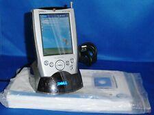 2002 Dell Axim X5 Pocket Pc Lot: Pa-14 Charger, Hd02U Cradle