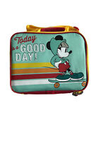 Brand New!! Disney Mickey Mouse Today Is A Good Day LunchBox