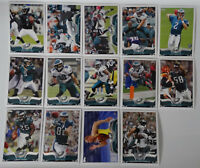 2013 Topps Philadelphia Eagles Team Set of 14 Football Cards