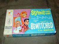 Milton Bradley - BEWITCHED - TV Series - Stymie Card Game - Vintage 1964 (Great)