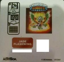 Jade Flashwing Skylanders Giants Sticker/Code Only!