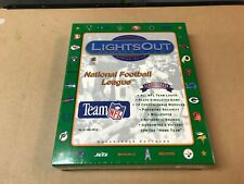 Lights Out Sports Fans NFL Screen Saver - Quadrangle Software - Brand New 1994