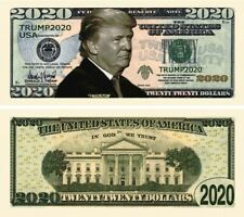 President Donald Trump 2020 Novelty Money