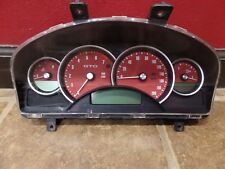 2004 PONTIAC GTO CLUSTER SPEEDOMETER OEM 200 MPH US RED FACE 92123211 AUTOMATIC