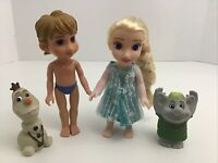 Disney My First Princess Petite Frozen Princess Elsa 6'' and Olaf figures Doll