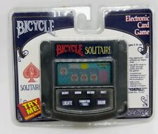 Bicycle Solitaire Electronic Handheld Game Tiger Electronics 1995 new/sealed