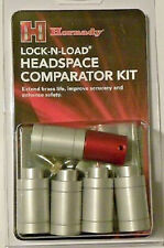 Hornady HK66 Lock N Load Headspace Gauge Kit with 5 Bushings and Comparator Base