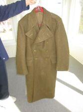 9319~ 1955/1951 Vintage Men's Military Wool Great Coat Overcoat Trench Coat