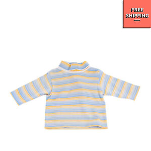 MAYORAL BABY Jumper Size 3M Striped Long Sleeve Funnel Neck