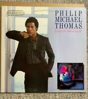 PHILIP-MICHAEL THOMAS - Living The Book Of My Life , LP 1985, 90486-1 - EX PROMO