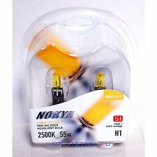 Nokya H1 Hyper Yellow S1 Headlight Fog Light Halogen Light Bulb 1 Pair NOK7617