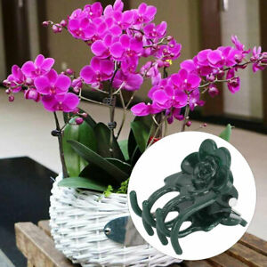 200 x Plant Support Clips Garden Clips Flowers Orchid Stem Clip for Vine Support
