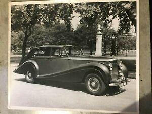 1950S BENTLEY R TYPE  LARGE ORIGINAL PRESS PHOTO 1