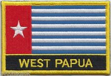 West Papua Flag Embroidered Patch Badge - Sew or Iron on