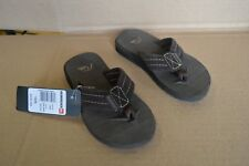 Quiksilver Brown Carver Suede Youth Sandals New with Hang Tag AQBL100007
