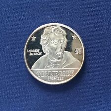 1996 Tennessee The Volunteer State Andrew Jackson Silver Art Medal P2863