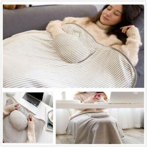 Durable USB Electric Heated Blanket Multifunction Warm Heating Blanket Cushion