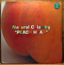 SEALED UNOPENED TRIP HOP 2XLP NATURAL CALAMITY PEACH HEAD (DUST BROS. REMIX)
