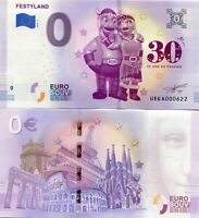 Festyland Normandy France Theme Park 0 Euro Souvenir Note 2019 Series 3