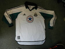 Newcastle United Extra Large XL Mens Away ASHMORE 9 Long Sleeved football Shirt