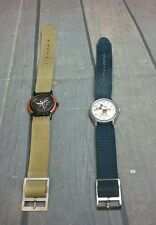 """Two """"MICKEY"""" watches --MICKEY MOUSE by LORUS & 1993 Disney Channel 10 Years"""