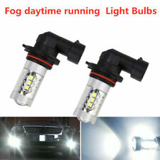 White 9005 HB3 LED Bulbs Daytime Running Light DRL for Acura ILX TSX MDX TL RL