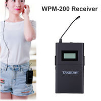 Takstar WPM-200 Portable Receiver Wireless Monitor System In-Ear Stereo HOT