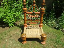 Indian Pidha low chair - original and unusual.