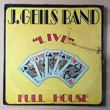 THE J. GEILS BAND Live Full House US Press LP