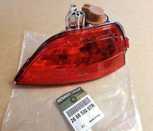 Rear Left Fog Light Lamp For Renault Scenic III Captur 265850007R LHD