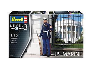 US Marine, Revell Figurines Kit de Montage 1:16, Art. 02804