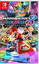 Mario Kart 8 Deluxe Japanese Version /w English subtitle  Nintendo Switch NEW